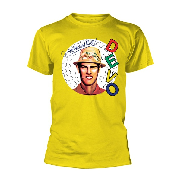 DEVO, are we not men? (boy) yellow cover