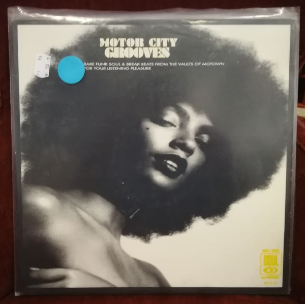 Cover V/A, motor city grooves (USED)