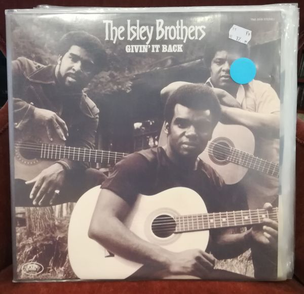 Cover ISLEY BROTHERS, givin´ it back (USED)
