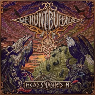 WE HUNT BUFFALO, head smashed in cover
