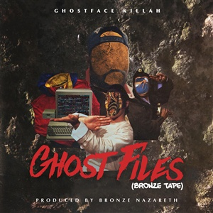 GHOSTFACE KILLAH, ghost files cover