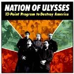 NATION OF ULYSSES, 13 point program cover