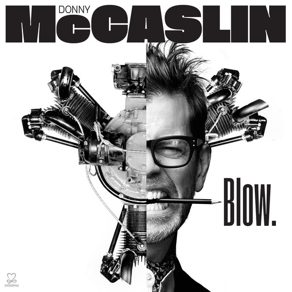 Cover DONNY MCCASLIN, blow