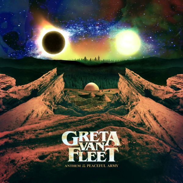 Cover GRETA VAN FLEET, anthem of the peaceful army