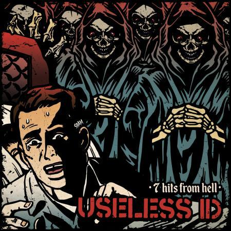 USELESS ID, 7 hits from hell cover