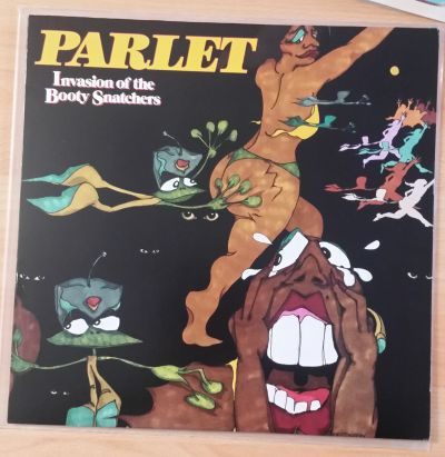 Cover PARLET, invasion of the booty snatchers (USED)