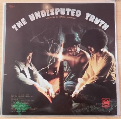 Cover UNDISPUTED TRUTH, s/t (USED)