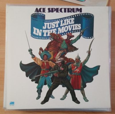 Cover ACE SPECTRUM, just like in the movies (USED)