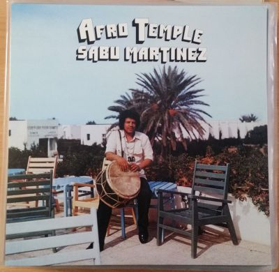 Cover SABU MARTINEZ, afro temple (USED)