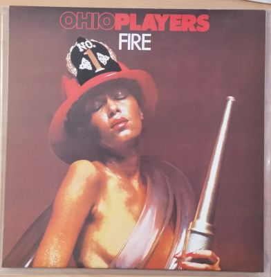 Cover OHIO PLAYERS, fire (USED)