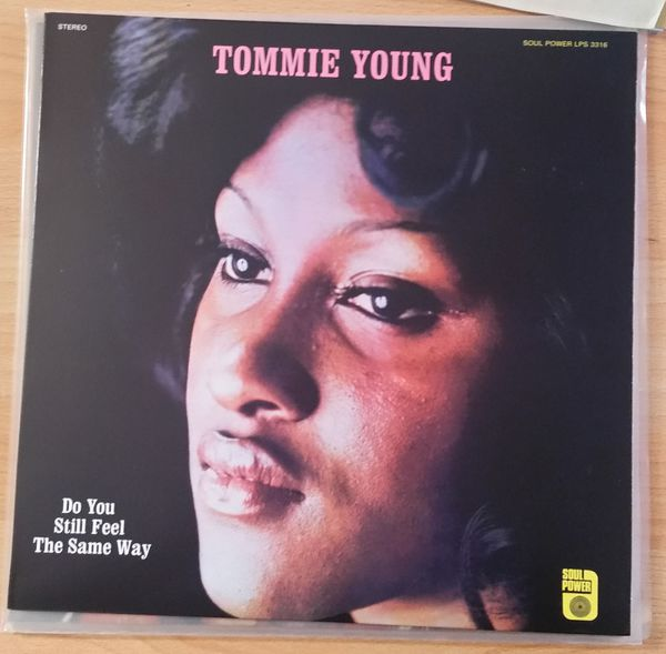 Cover TOMMIE YOUNG, do you still feel the same way (USED)