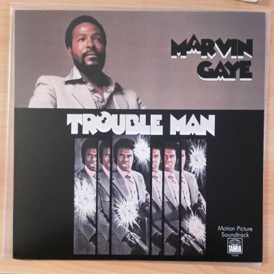 Cover MARVIN GAYE, trouble man (USED)