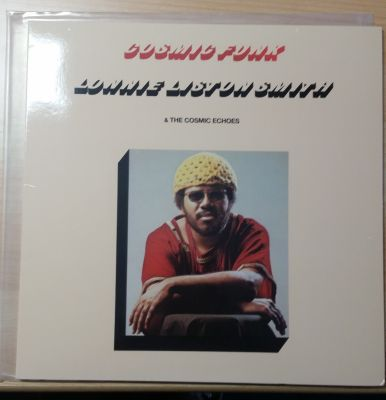 Cover LONNIE LISTON SMITH, cosmic funk (USED)