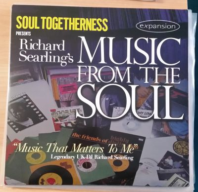 Cover V/A, richard searling's music from the soul (USED)