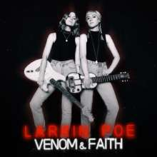 Cover LARKIN POE, venom & faith