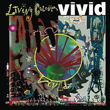 LIVING COLOUR, vivid cover