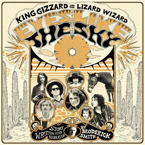 Cover KING GIZZARD & THE LIZARD WIZARD, eyes like the sky