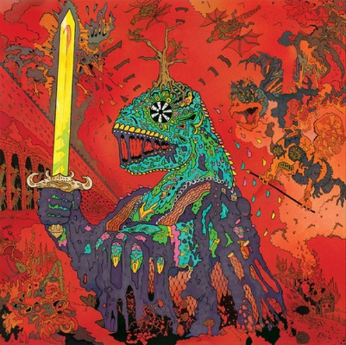 Cover KING GIZZARD & THE LIZARD WIZARD, 12 bar bruise