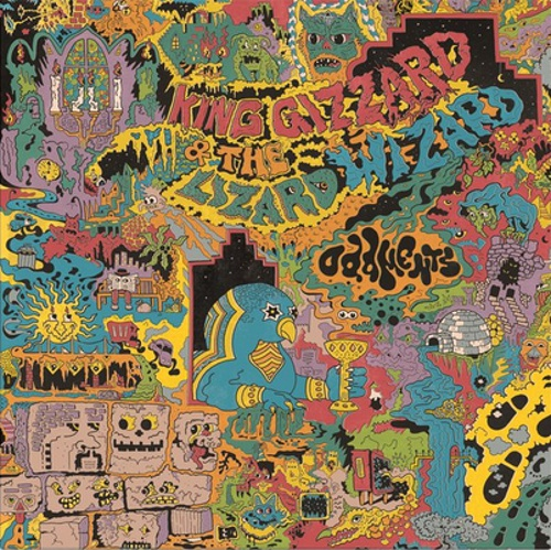Cover KING GIZZARD & THE LIZARD WIZARD, oddments