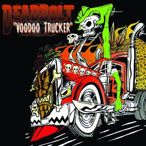 DEADBOLT, voodoo trucker cover