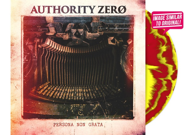 Cover AUTHORITY ZERO, persona non grata