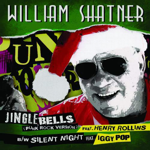 WILLIAM SHATNER, jingle bells (punk rock version) cover
