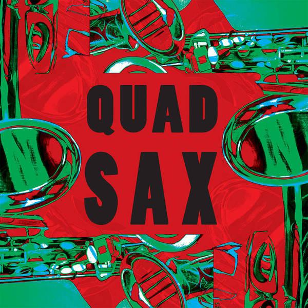QUAD SAX, s/t cover