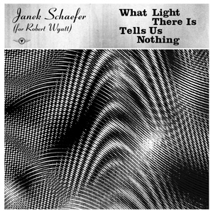 JANEK SCHAEFER (FOR ROBERT WYATT), what light there is tells us nothing cover