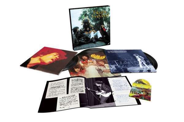 JIMI HENDRIX EXPERIENCE, electric ladyland - 50th anniversary deluxe boxset cover