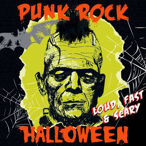 V/A, punk rock halloween  - loud, fast & scary cover