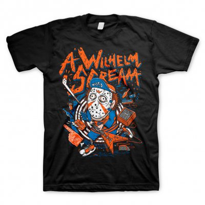 A WILHELM SCREAM, hockey (boy) black cover