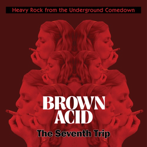V/A, brown acid: seventh trip cover