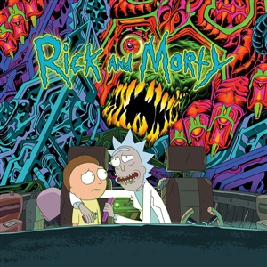 RICK AND MORTY, the rick and morty soundtrack cover