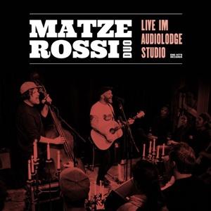 MATZE ROSSI, musik ist der wärmste mantel  (live) - clear vinyl cover
