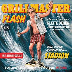 Cover GRILLMASTER FLASH, stadion