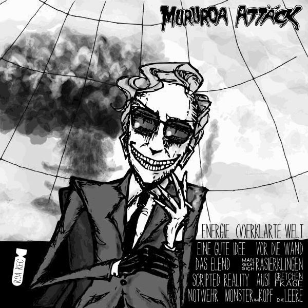MURUROA ATTÄCK / VOLKER DAS TROPHE & DIE UNTERGÄNG, split cover