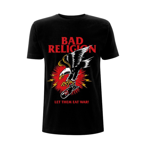 BAD RELIGION, bomber eagle (boy) black cover