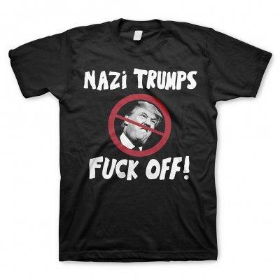 JELLO BIAFRA AND THE GUANAMO..., nazi trumps (boy) black cover