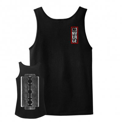 Cover CONVERGE, the blade (boy) black tank top