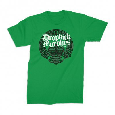DROPKICK MURPHYS, claddagh hands (boy) irish green cover
