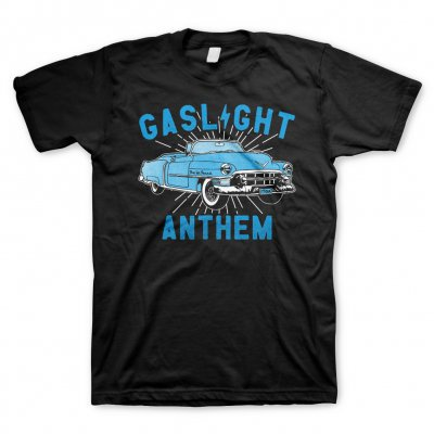 GASLIGHT ANTHEM, car (boy) black cover