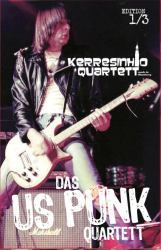 Cover KERRESINHIO QUARTETT, us punk teil 1