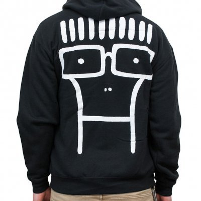 Cover DESCENDENTS, classic milo (boy) black zip-hoodie