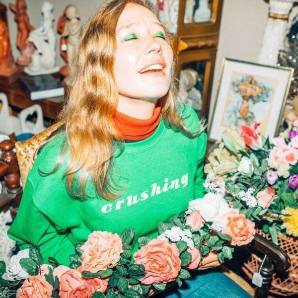 JULIA JACKLIN, crushing cover
