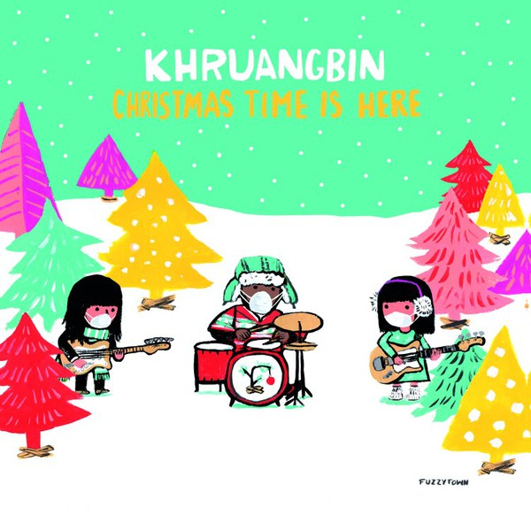 KHRUANGBIN, christmas time is here cover