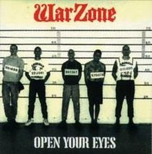 WARZONE, open your eyes cover