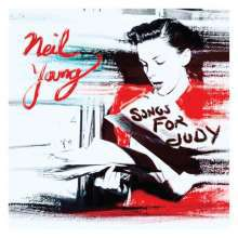 NEIL YOUNG, songs for judy cover