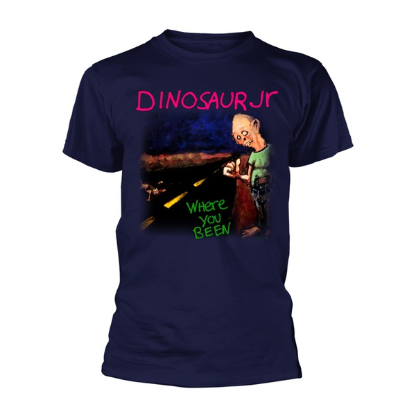 DINOSAUR JR., where you been (boy) blue cover