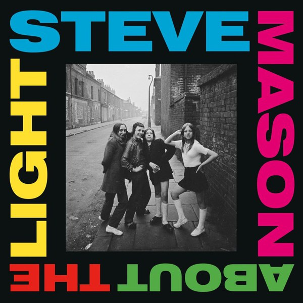 STEVE MASON, about the light cover