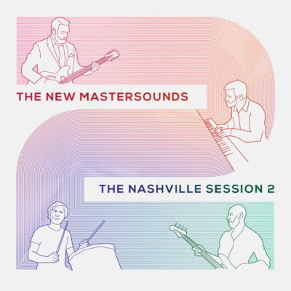 NEW MASTERSOUNDS, nashville sessions 2 cover